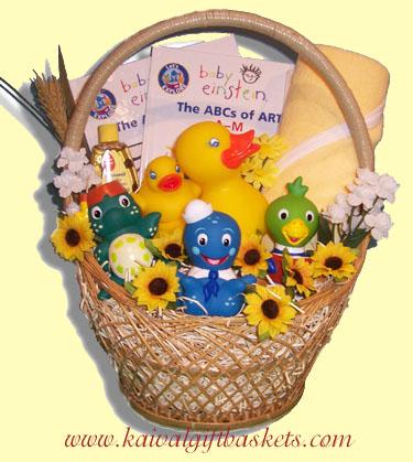 Buddies Baby Gift Basket