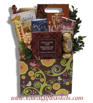 Chocolate Forest Gift Basket