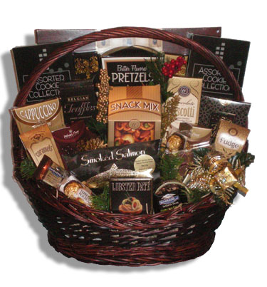 Grand Sentiments Christmas Gift Basket Canada