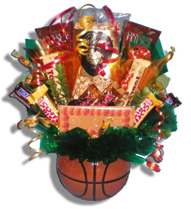 Hoops Candy Bouquet