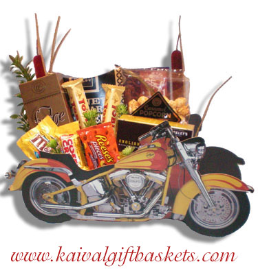 Motorcycle Gift Basket Montreal-Free Delivery