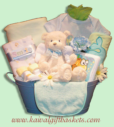 Snuggles Baby Gift Basket