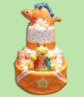 Star Bright-Baby Diaper Cakes