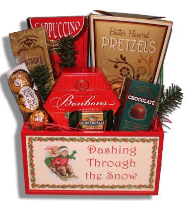 Wonderland Christmas Gift Basket