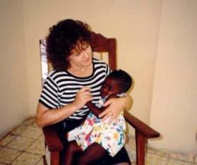 Jean at Love A Child orphanage