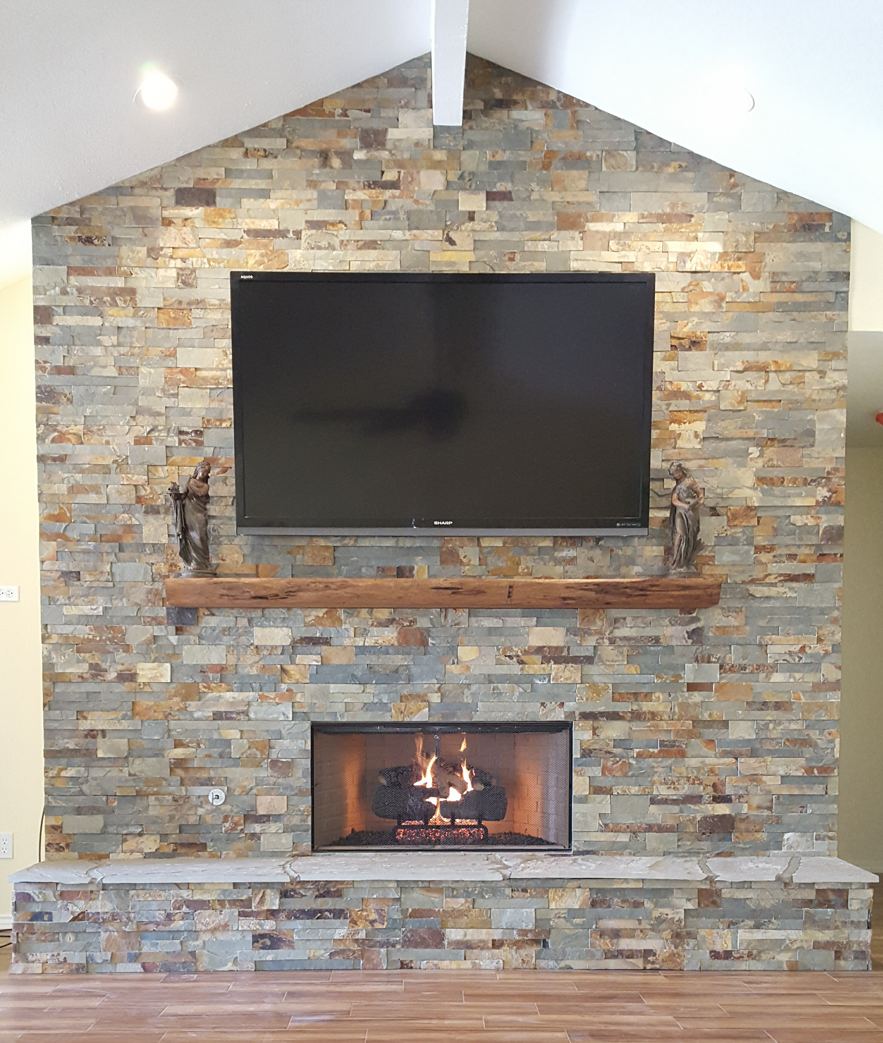 images winter in waterloo fireplace creations iowa