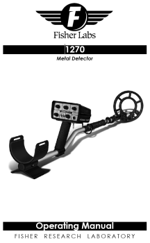 Fisher 1270X Metal Detector & Accessories