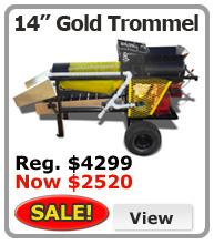 Pro Gold Trommel