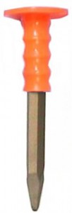 Hand Guard Chisel, Pointed Tip
