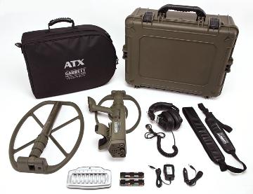 Garrett ATX Metal Detector Deepseeker Pack