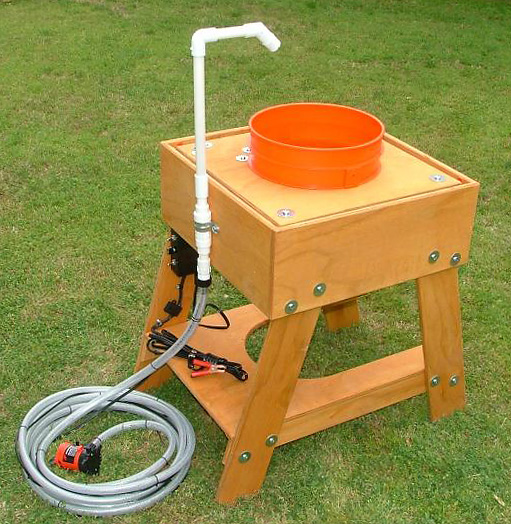 Earthquake Vibrating Classifier with Water Kit