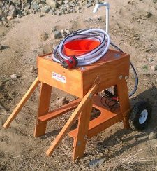 Earthquake Vibrating Classifier - Wheel & Water Kits