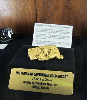 highland centennial gold nugget