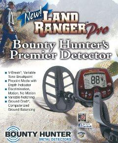 Land Ranger Pro detector