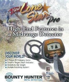 Lone Star Pro metal detector
