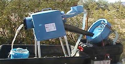 Mountain Goat Trommel - Desert Fox Spiral Panner Combo