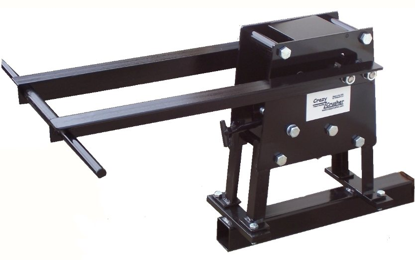 Rock Crusher with Hitch Mounting Kit