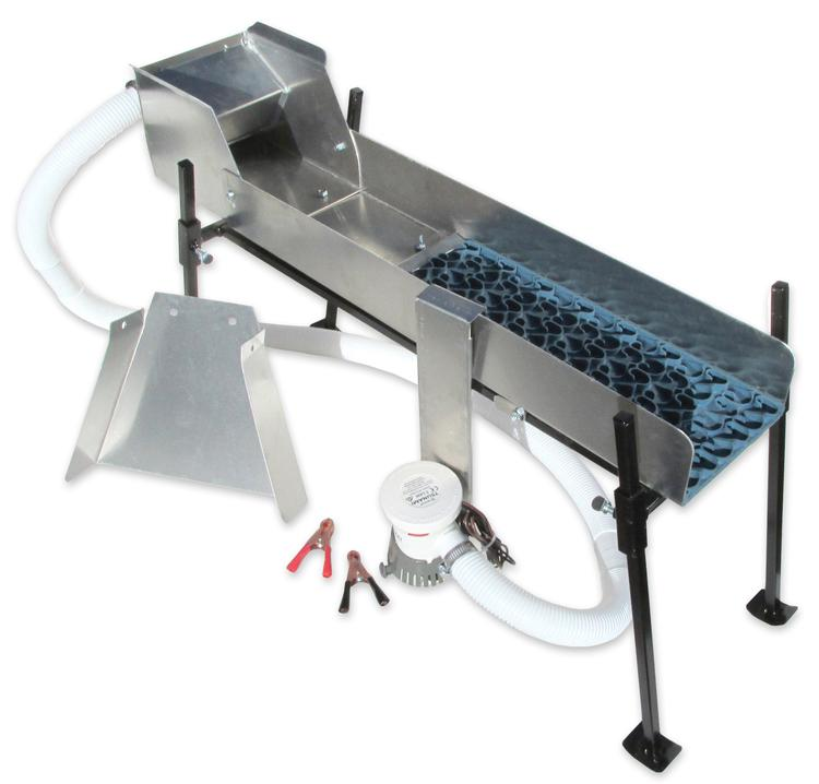 6 inch Power Sluice and Set Up Kit