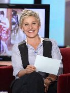 #1 FEMALE TALK SHOW HOST - ELLEN DEGENERES