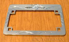 GL1800 Chrome Eagle License Plate Frame