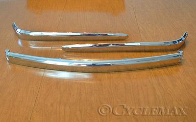 Goldwing GL1800 Chrome Trunk Moldings