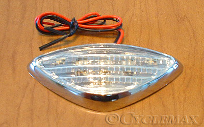 GL1800 Clear Lighted Front Fender Emblem