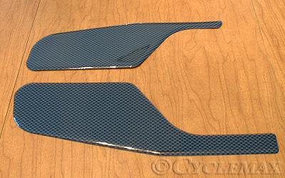 GL1800 Carbon Fiber Engine Cover Scuff Pads