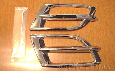 Goldwing GL1800 Show Chrome Big Bike Parts Side Fairing Accent