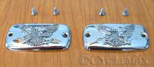 GL1800 Chrome Eagle Master Cylinder Covers