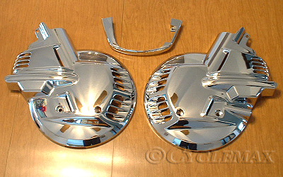 Chrome Rotor Covers