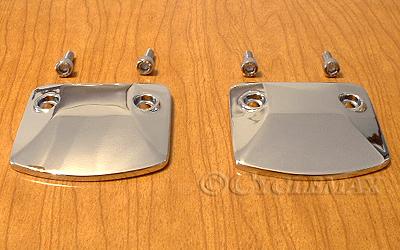 GL1500 Chrome Cam End Covers