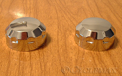 GL1800 Chrome Radio Knobs