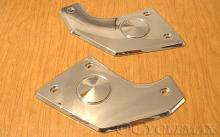 Goldwing GL1800 F6B Kuryakyn Chrome Swingarm Covers Pivot Covers