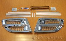 Goldwing GL1800 Add On Side Fairing Grilles with Mesh