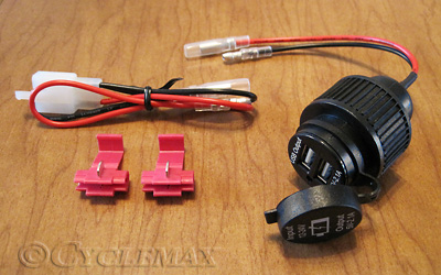 Dual USB Auxiliary Socket