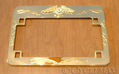 GL1800 Gold Eagle License Plate Frame