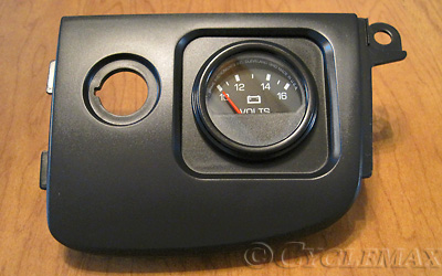 "EC04110 Motorcycle Goldwing GL1800 2/""Diameter Anolog Volt Meter"