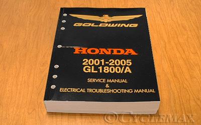 gl1800 oem 2001 2017 honda service manual rh cyclemax com 2018 Honda Goldwing GL1800 Honda Goldwing GL1800 Trike