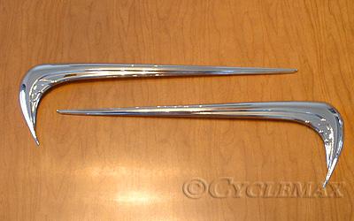 Goldwing GL1800 Kuryaky Chrome Saddlebag Side Emblems