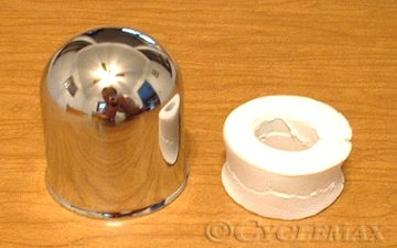 Goldwing Chrome Trailer Ball Cover