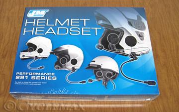 291 Shorty Style Helmet Headset