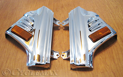 GL1800 Chrome Deluxe Front Fender Covers