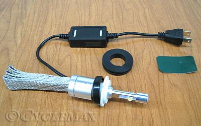 GL1800 Show Chrome LED H7 Headlight Bulb