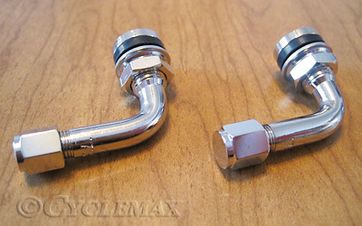 Goldwing 90 Degree Metal Valve Stems