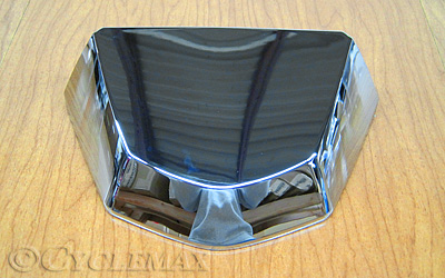 2018 Goldwing Chrome License Light Lid