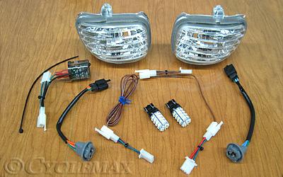 GL1800 Euro LED Mirror Daytime Running Lights
