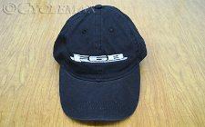 Black F6B Twill Baseball Cap