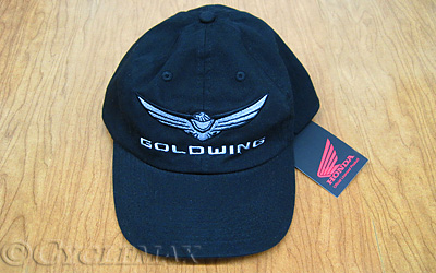 Black New Style 2018 Goldwing Twill Baseball Cap