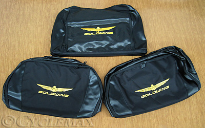 GL1800 Honda Deluxe Saddlebag and Trunk Luggage Set