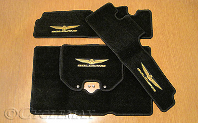 GL1800 OEM Honda 3 Piece Carpet Mat Set